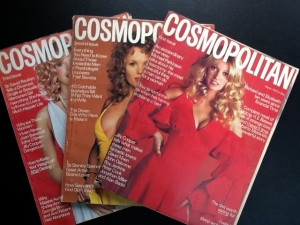 First 3 Issues of Cosmopolitan magazine