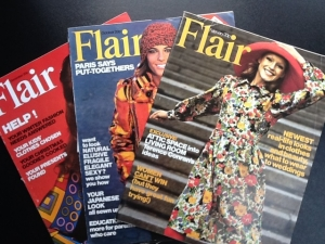 Janet drew many illustrations for Flair magazine