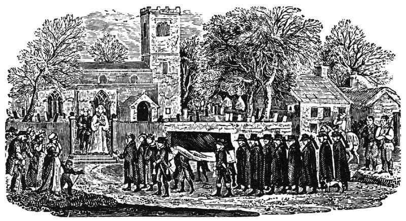 A Georgian Funeral 1850's