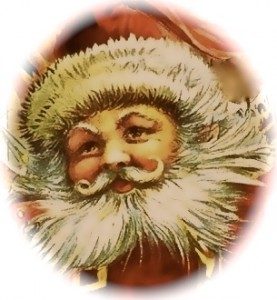 From a victorian Christmas card